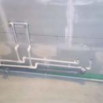 Тройниковая разводка труб водопровода