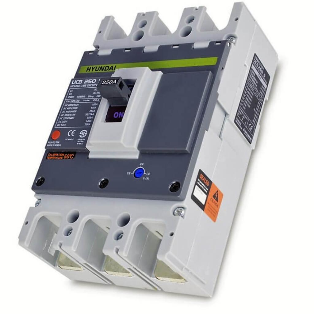 Автоматические выключатели HYUNDAI в литом корпусе