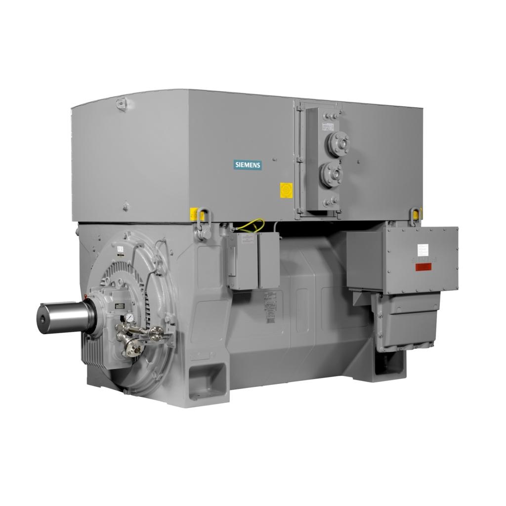 Высоковольтные электродвигатели SIEMENS
