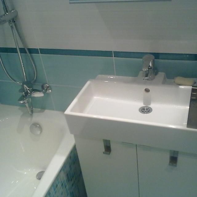 Ремонт ванной комнаты на пр. Славы