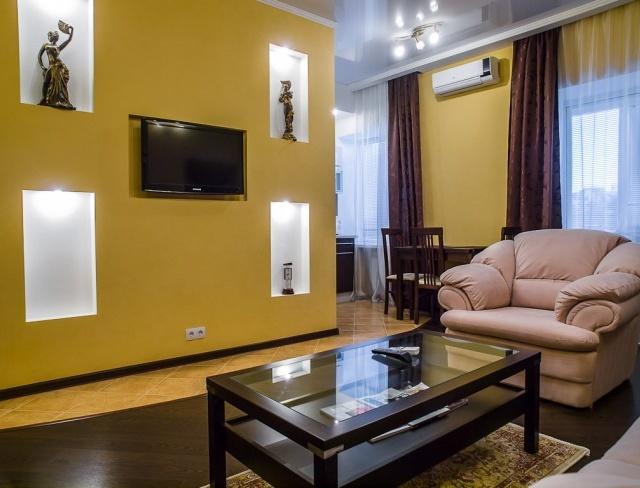 Фото индивидуального ремонта квартиры на Крестовском острове