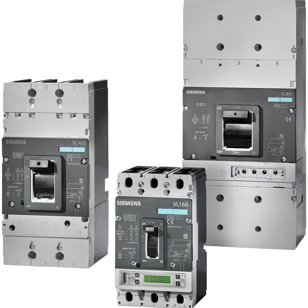 Автоматические выключатели в литом корпусе SIEMENS