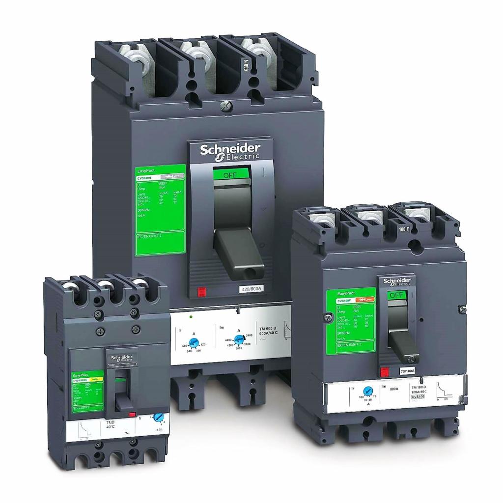 Автоматические выключатели в литом корпусе SchneiderElectric