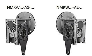 Вариант расположения реактивных штанг nmrw