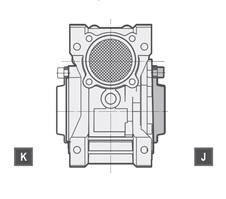 Вариант расположения защитной крышки NRW (VMRW)